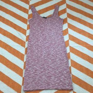 Pink knit sundress